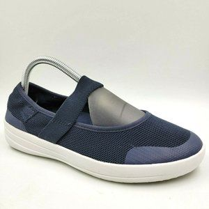 FitFlop Uberknit Navy Blue Comfort Mary Jane Shoes